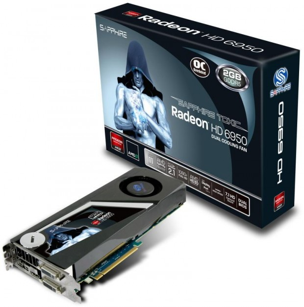 Sapphire Radeon HD 6950 TOXIC Edition e1312452587929 0