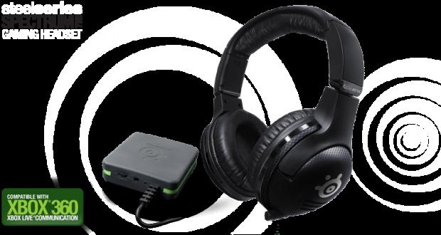 SteelSeries Spectrum 7XB 1 e1312561949817 SteelSeries Spectrum 7XB: Auriculares inalámbricos para Xbox 360