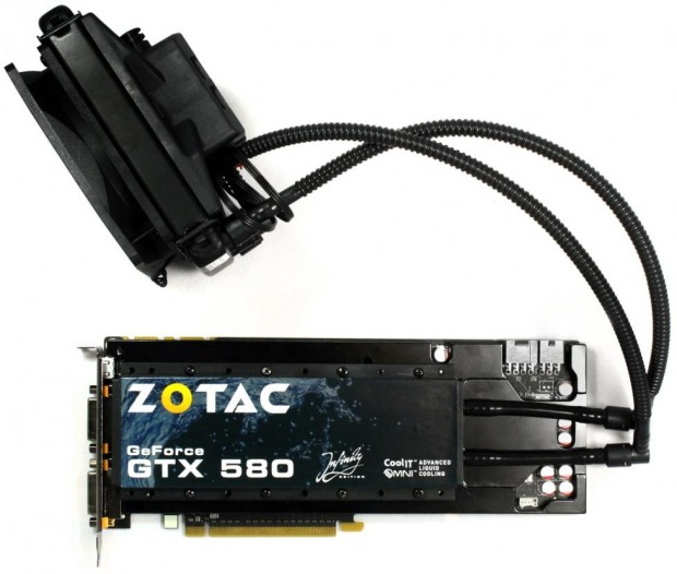 Zotac GeForce GTX 580 Infinity Edition 2 e1312459065729 Zotac desarrolla una GeForce GTX 580 refrigerada por CoolIT