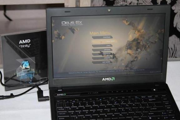 AMD Trinity Demo Deux Ex 0