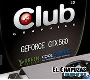 Club 3D lanza la GeForce GTX 560 Ti Green Edition