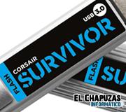 Corsair Flash Voyager GT, Voyager & Survivor se pasan al USB 3.0