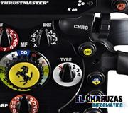 Thrustmaster Ferrari F1 Wheel Add-On: El volante definitivo para F1 2011