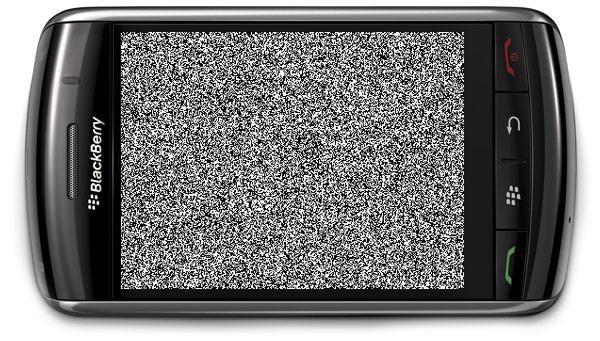 BlackBerry Storm Ruido Si ayer tuviste problemas con tu BlackBerry puedes reclamar a tu compañía