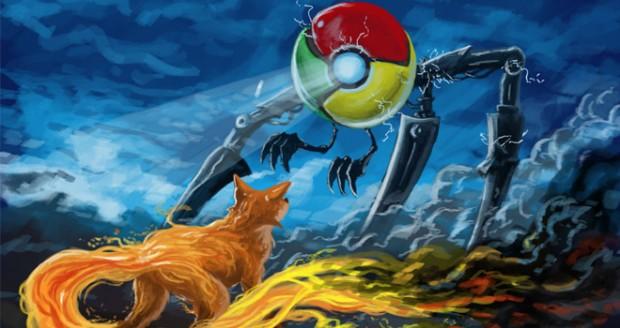 lchapuzasinformatico.com wp content uploads 2011 10 Chrome VS Firefox e1317503462768 0