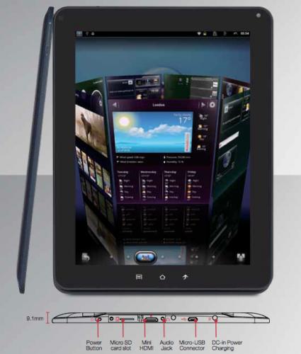 Conexiones ViewSonic ViewPad 10e 1