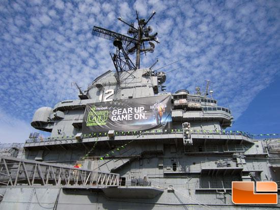 GeForce LAN 6 USS Hornet 2 1
