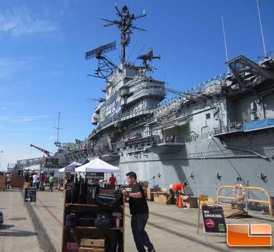 GeForce LAN 6 USS Hornet 0