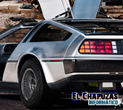 Logo DeLorean DMC-12 EV