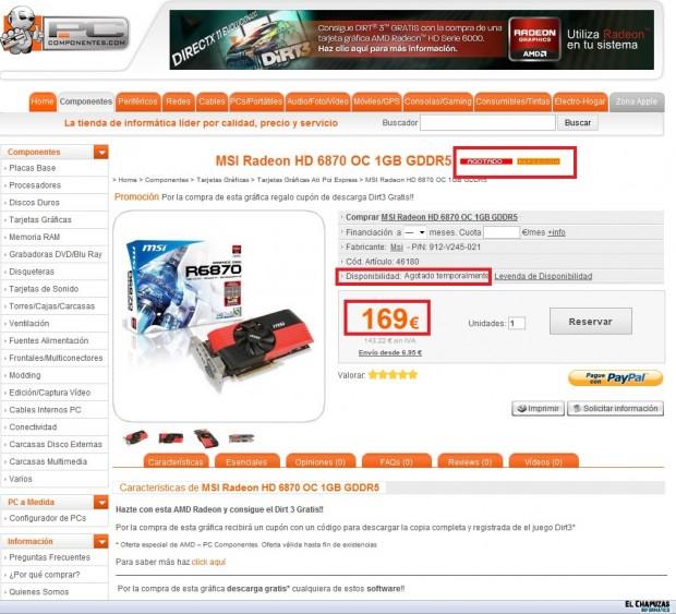 MSI Radeon HD 6870 OC 1GB GDDR5 Pccomponentes Precio Modificado e1318351860337 1
