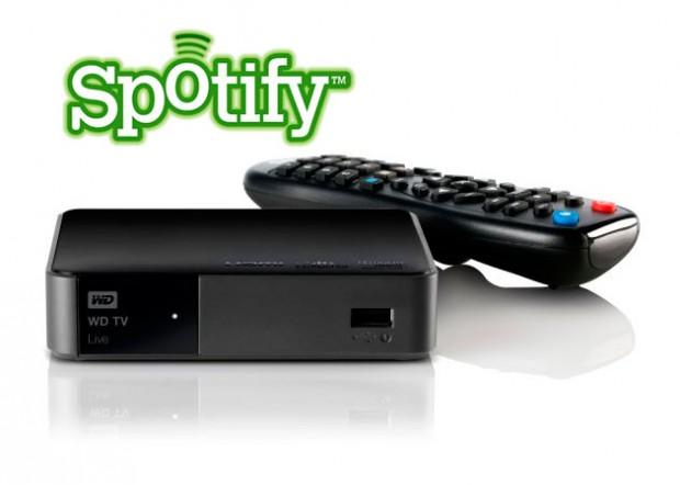 WD TV Live Spotify e1317917781258 0