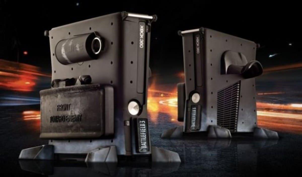 Xbox 360 Carcasa Battlefield 3