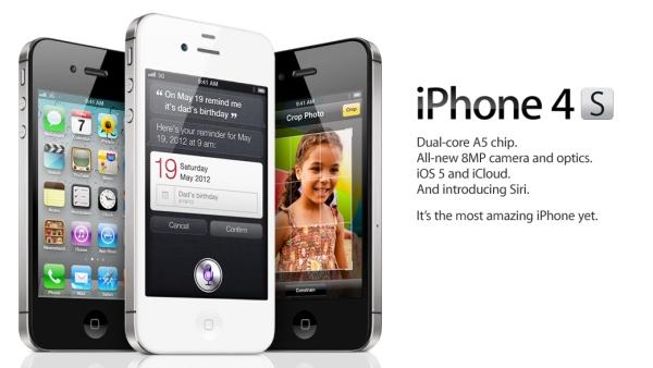iPhone 4S Características 0