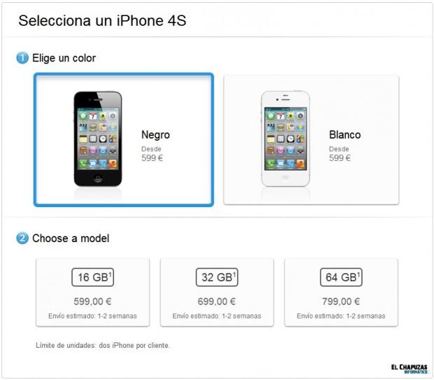 iPhone 4S Libre de Fábrica e1319311312466 0
