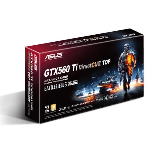 Asus GTX 560 Ti DirectCU II TOP Asus Xonar D2X Battlefield 3 1 0