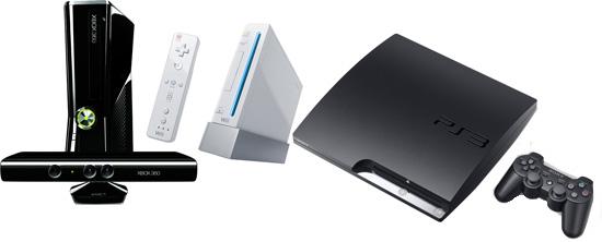 Consolas X360 Wii PS3 0