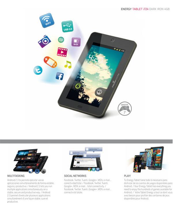 Energy Tablet i724 Dark iron 1