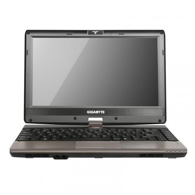 Gigabyte Booktop T1132 1 e1322516666967 Gigabyte Booktop T1132: Portátil netvertible