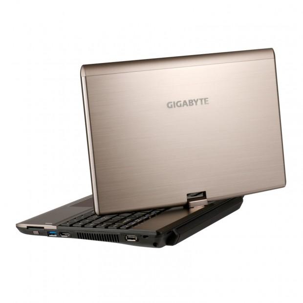 Gigabyte Booktop T1132 2 e1322516760318 Gigabyte Booktop T1132: Portátil netvertible
