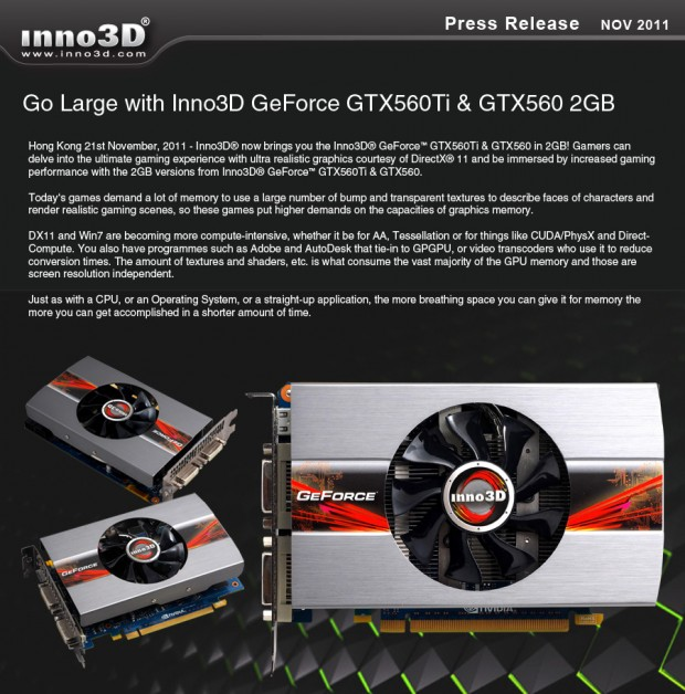Inno3D Geforce GTX 560Ti GTX 560 2GB e1321896081952 0