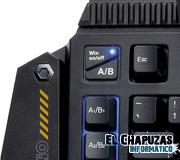 AZiO Levetron Mech4 KB588U: Teclado modular para gamers