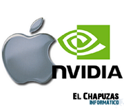 Logo Apple y Nvidia