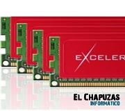 Exceleram desarrolla un kit Quad-Channel 32GB para Sandy Bridge E