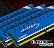 Kingston lanza su kit Quad Channel HyperX Genesis