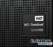 WD lanza el NAS Sentinel DX4000