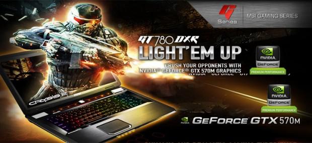 MSI GT780DXR 1 e1321957883426 MSI GT780DXR: Portátil gamer con Nvidia GTX 570M
