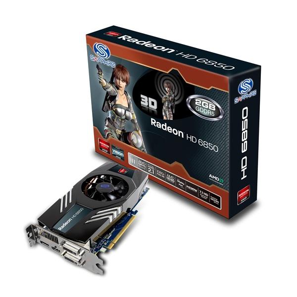Sapphire Radeon HD 6850 2GB GDDR5 0