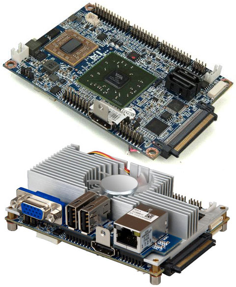 VIA EPIA P900 Pico ITX VIA lanza la primera placa base Dual Core Pico ITX
