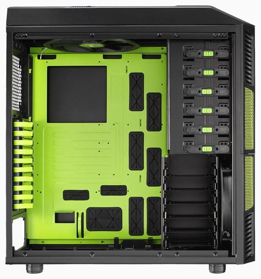 Aerocool XPredator Evil Green Edition 4 3