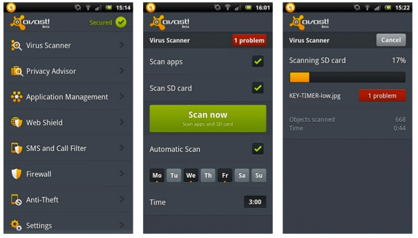 Avast Mobile Security 2 1