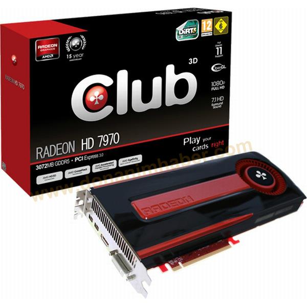 Club 3D Radeon HD 7970 0