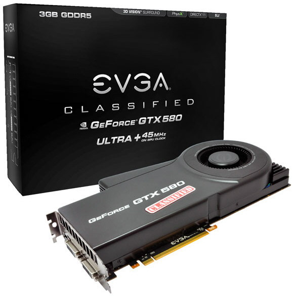 EVGA GeForce GTX 580 Classified Ultra 1 0