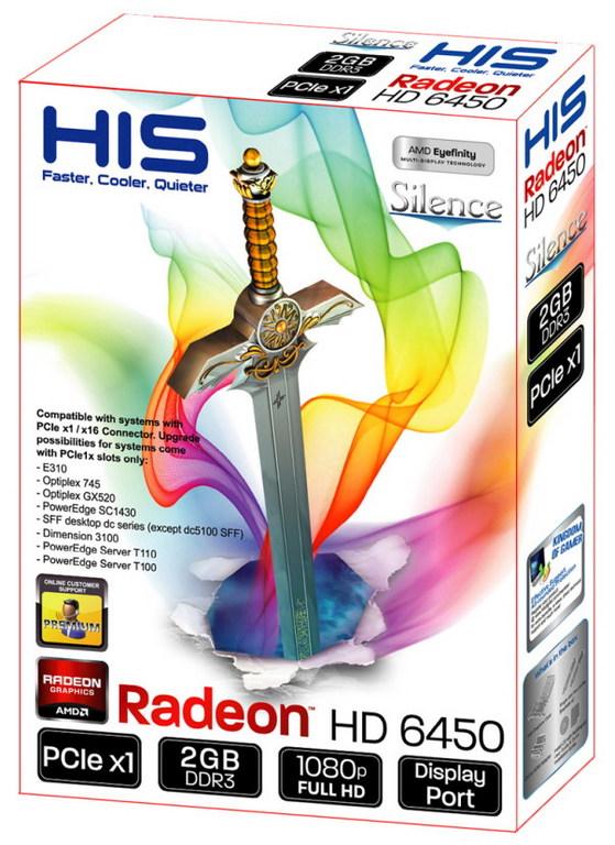 lchapuzasinformatico.com wp content uploads 2011 12 HIS Radeon HD 6450 2GB DDR3 PCIe x1 1 0