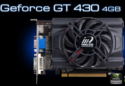 Inno3D GeForce GT430 4GB DDR3 0