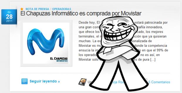 Inocente 2011 1 e1325112306756 El Chapuzas Informático es comprada por Movistar
