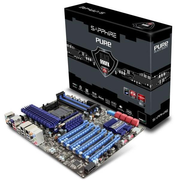 Sapphire Pure Black 990FX 0
