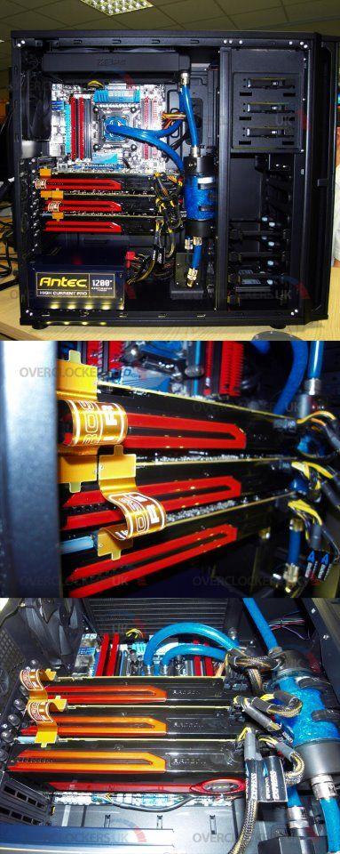 Tri Fire AMD Radeon HD 7970 1