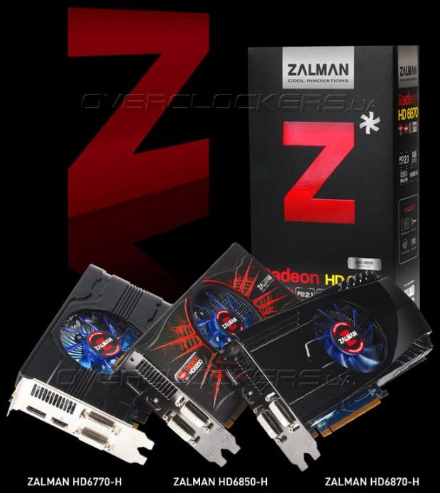 Zalman Radeon HD 6870 H Zalman Radeon HD 6850 H Zalman Radeon HD 6770 H 1 e1323359514159 0