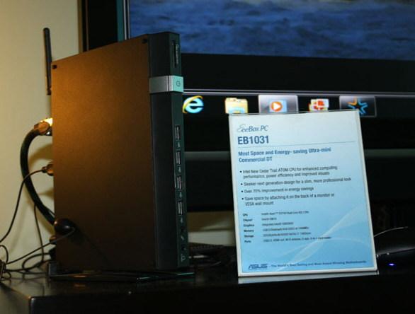 Asus Eee box EB1031 Asus Eee Box EB1031 potenciado con Intel Cedar Trail