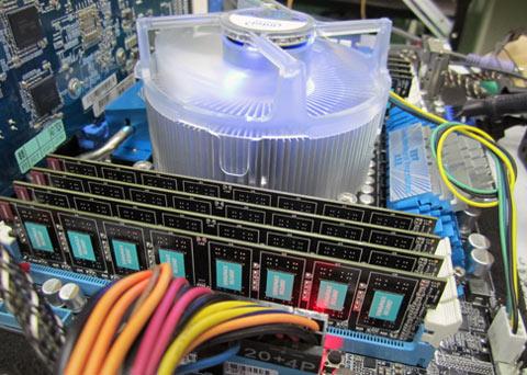 Kingmax Quad Channel DDR3 2200 MHz 0