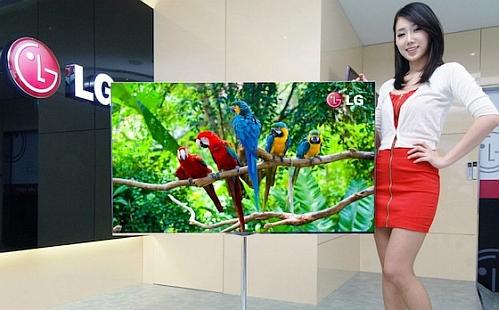 LG 55inch OLED LG da más detalles del televisor OLED más grande del mundo