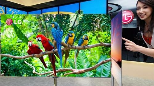 LG 55inch OLED 2 LG da más detalles del televisor OLED más grande del mundo
