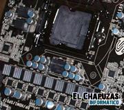 Placa base Sapphire PT-CI7Z77 (Intel Z77) fotografiada