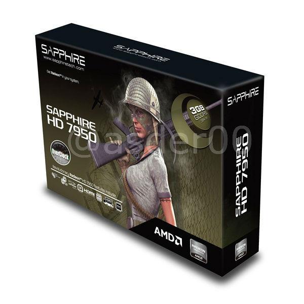 Sapphire HD 7950 3G GDDR5 5 0