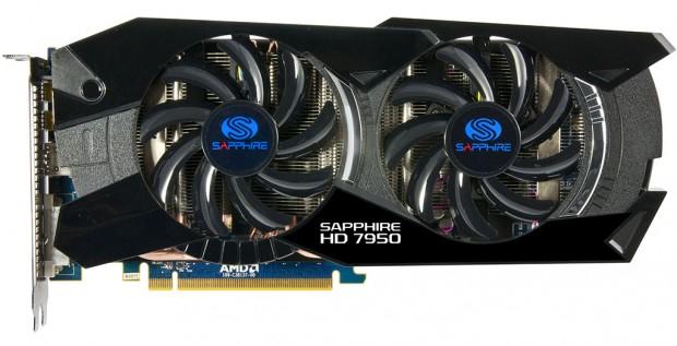 Sapphire Radeon HD 7950 Dual Fan 2 620x317 Sapphire lanza sus ya vistas Radeon HD 7950