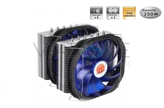 Thermaltake Extreme Frio 1 620x411 Thermaltake anuncia los disipadores CPU Extreme Frio y Frio/OCK Snow Edition